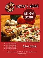 Flyer 10x14 - Pizza - 01